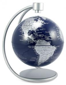 "Closeup of 8"" Globe"